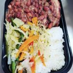 Tuesday's Special Stew Peas with Salt Pigs tails & White Rice